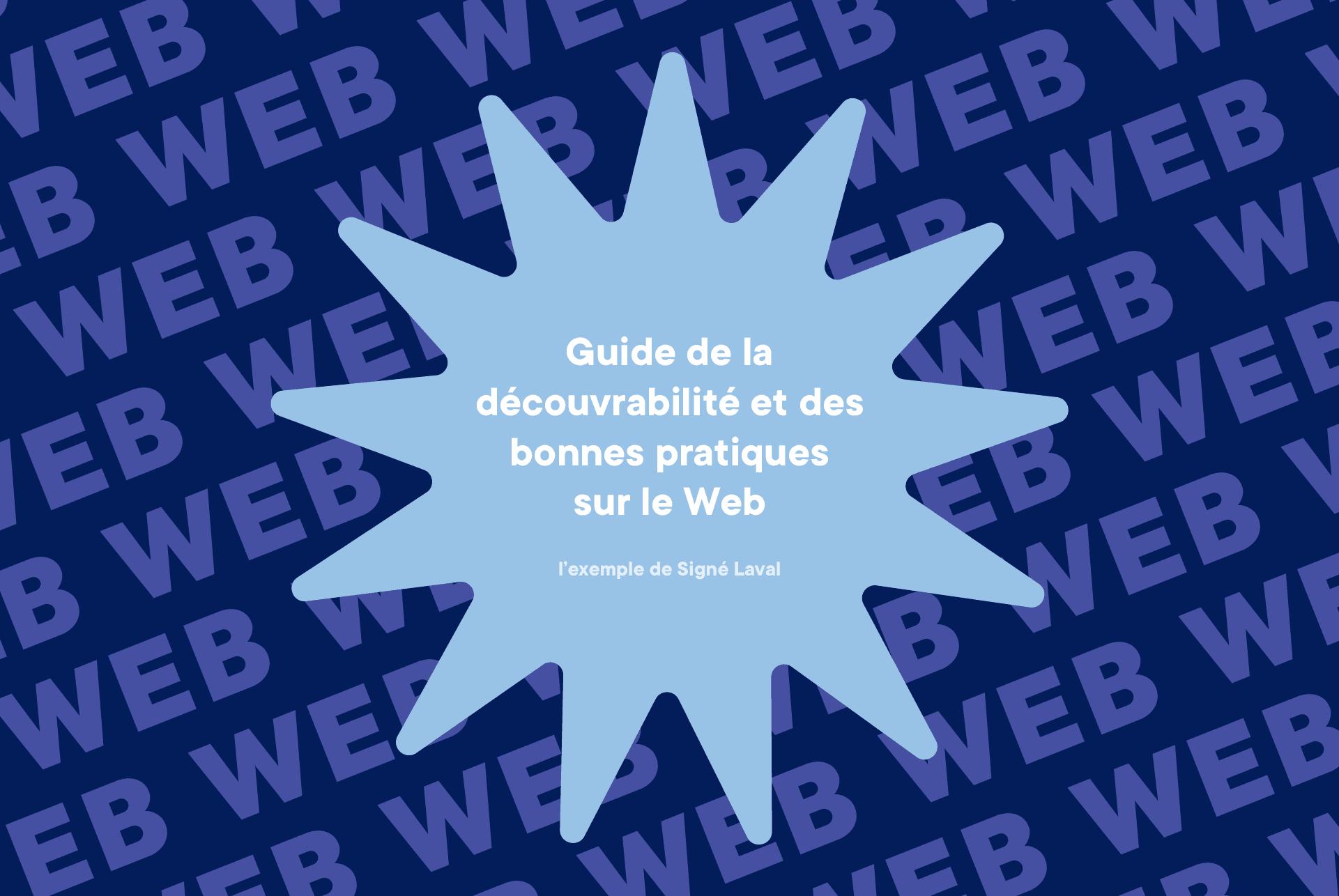 Guide de la découvrabilité et des bonnes pratiques sur le Web